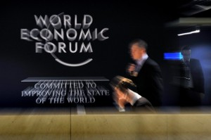 SWITZERLAND-WEF-DAVOS-ILLUSTRATION
