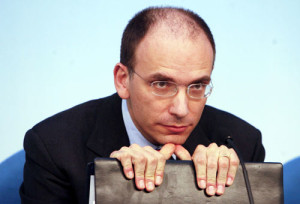 Letta Enrico fronte