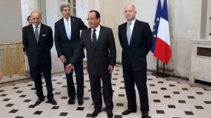 Hollande Fabius Kerry